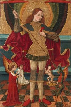 The Archangel Michael Weighing the Souls of the Dead by Juan de la Abadía the Elder