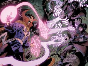Iron Man Legacy No.11: Dr. Strange Fighting with Energy by Juan Doe