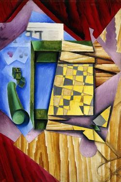 Backgammon, 1913-14 by Juan Gris