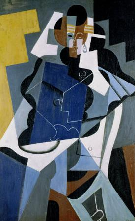 Figure of a Woman, 1917 by Juan Gris