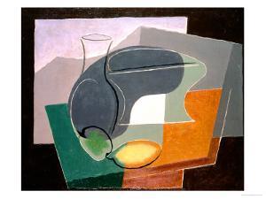 Fruit-Dish and Carafe, 1927 by Juan Gris