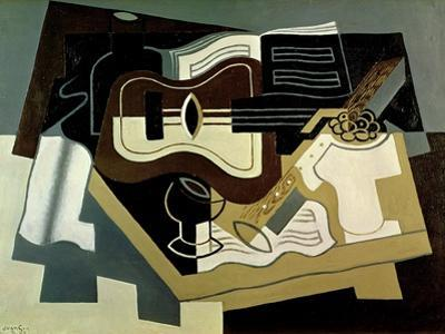 Guitar and Clarinet, 1920 by Juan Gris
