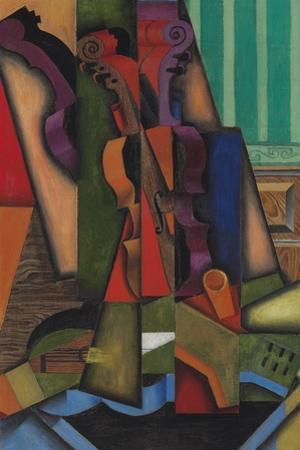 Guitar and Violin, 1913 by Juan Gris