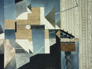Guitar on Table; La Guitare Sur La Table, 1913 by Juan Gris