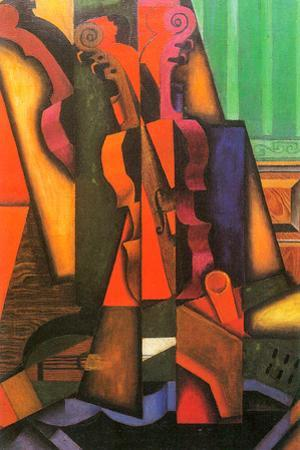 Juan Gris Violin and Guitar by Juan Gris