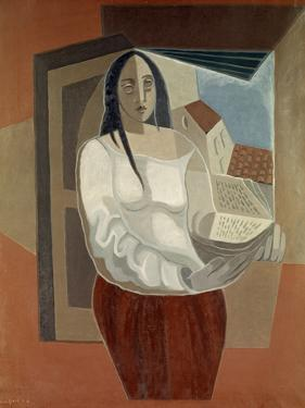 La Femme au Livre (Woman with Book), 1926 by Juan Gris