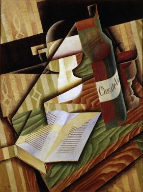 Le Livre (The Book), 1915 by Juan Gris