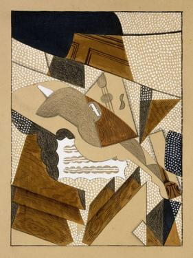 Le Violon by Juan Gris