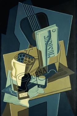 Music Book; Le Cahier de Musique, 1922 by Juan Gris