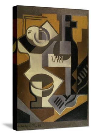 Nature Morte à la Bouteille de Vin, 1918 by Juan Gris