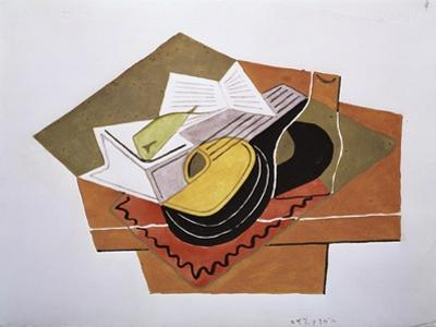 Still Life with a Guitar, c.1920 by Juan Gris