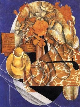 Still Life with Flowers, 1914 by Juan Gris