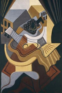 Table in Front of Window by Juan Gris