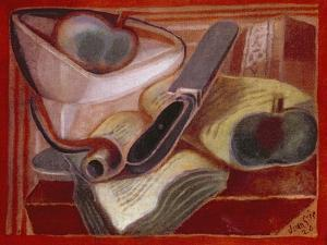 The Book, 1924 by Juan Gris