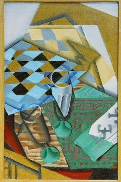 The Chess Board, 1914 by Juan Gris