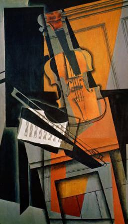 The Violin, 1916 by Juan Gris