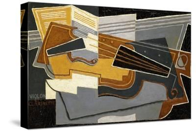Violin and Clarinet, 1921 by Juan Gris