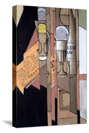 White Bordeaux, 1913 by Juan Gris