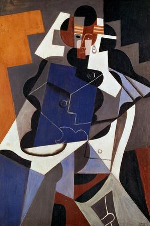 Woman, 1915-17 by Juan Gris