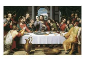 The Last Supper by Juan Juanes