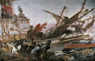 Naval Battle of Lepanto by Juan Luna Y Novicio