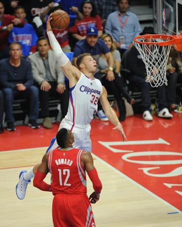 Houston Rockets v Los Angeles Clippers - Game Six by Juan Ocampo