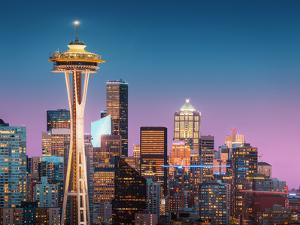 Pink Seattle. by Juan Pablo