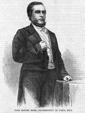 Juan Rafael Mora, Ex President of Costa Rica.