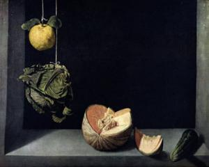 Coing, Chou, Melon et Concombre by Juan Sanchez Cotan