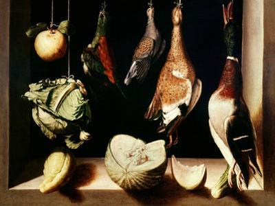 Still-Life with Game Fowl, 1600-1603