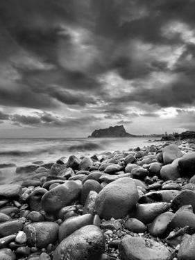 Rocky Reach Black and White by Juan Vte. Mu±oz