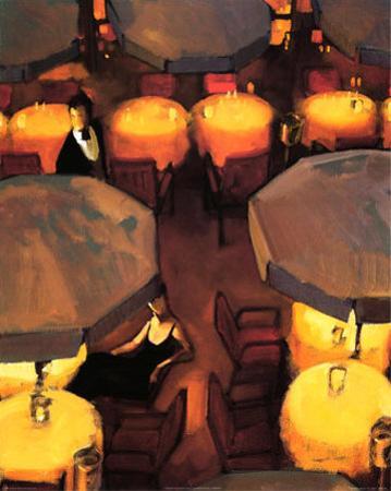 Umbrella Lights by Juarez Machado