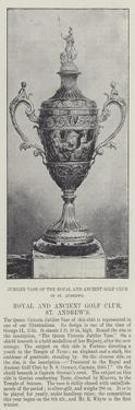 Jubilee Vase of the Royal and Ancient Golf Club of St Andrews