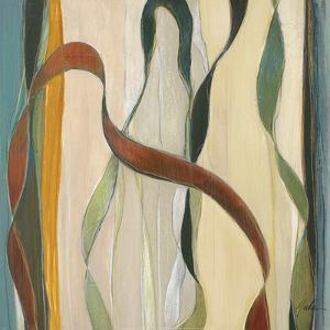 Falling Ribbons I by Judeen