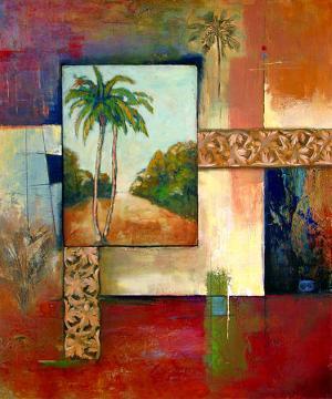 Palm Serenity II by Judeen