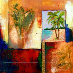 Palm View II by Judeen