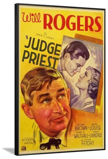 Judge Priest--Framed Poster