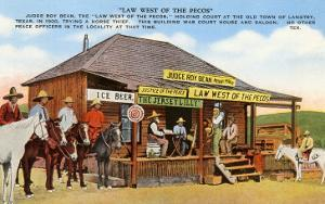 Judge Roy Bean's Courthouse, Langtry, Texas