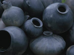 Black Pottery, San Bartolo Coyotepec, Oaxaca, Mexico by Judith Haden