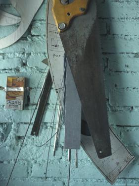 Tools of the Trade for Local Artisan and Tinsmith, Oaxaca, Mexico by Judith Haden