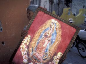 Virgen de Guadelupe, Chimayo, New Mexico, USA by Judith Haden
