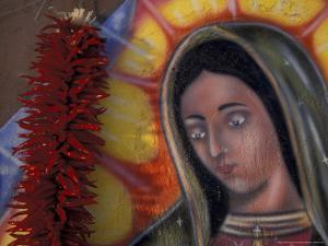 Virgen de Guadelupe, New Mexico, USA by Judith Haden