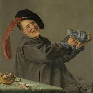 Merry Drinker (Jolly Toper) by Judith Leyster