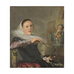 Self-Portrait, C. 1630 by Judith Leyster