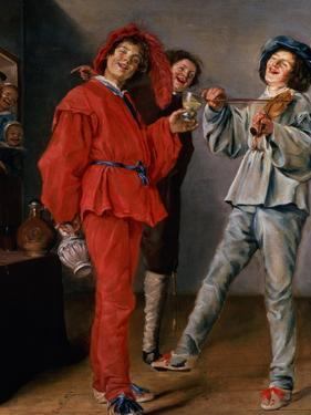 Three Boys Merry-Making, C.1629 by Judith Leyster