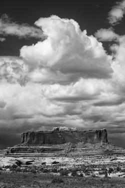 Approaching Rainstorm over Monitor Butte, Colorado Plateau Near Canyonlands National Park by Judith Zimmerman