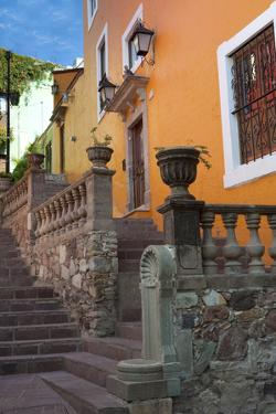 Mexico, the Colorful Homes and Buildings of Guanajuato by Judith Zimmerman