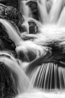 Small Waterfall on Swift River Near Rocky Gorge, White Mountain National Forest, New Hampshire by Judith Zimmerman