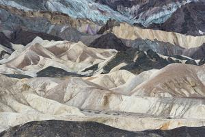 USA, California. Twenty Mule Team Canyon, Death Valley National Park. by Judith Zimmerman