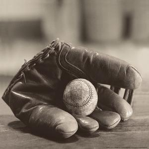 Ball in Mitt by Judy B. Messer